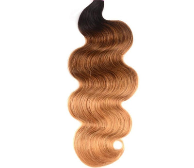 Ombre Hair Bundles Body Wave Bundles T1B/4/27 Brazilian  1PCS