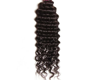 Deep Wave Hair Bundles 1 Piece 100% Human Hair Extension