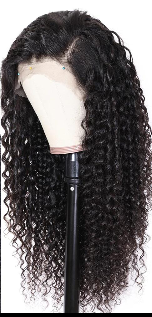 13x4/6 Deep Part Curly Human Hair Pre Plucked Wig