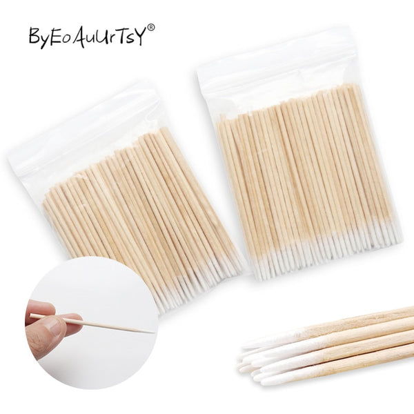 Disposable Ultra-small Cotton Swab for Eyelash Extension Removal