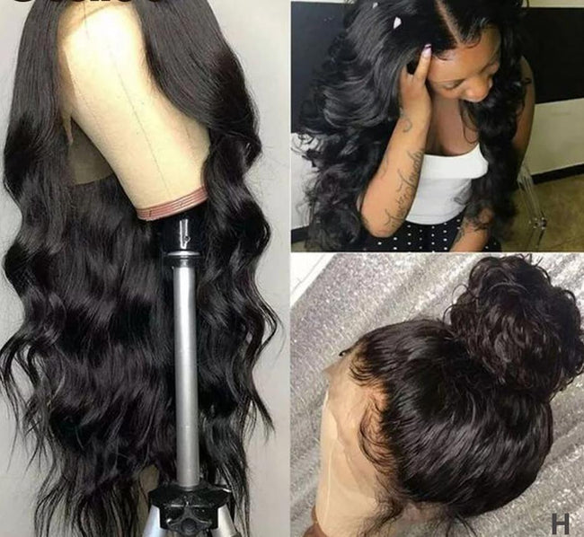 Lace Front Wig Body Wave 360 Lace Frontal Wig Brazilian Remy Hair