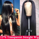 13x4 13x6 Lace Front Human Hair Pre Plucked Remy Invisible Wig