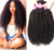 Malaysian Curly Weave Human Hair Extension 1/3/4 Piece