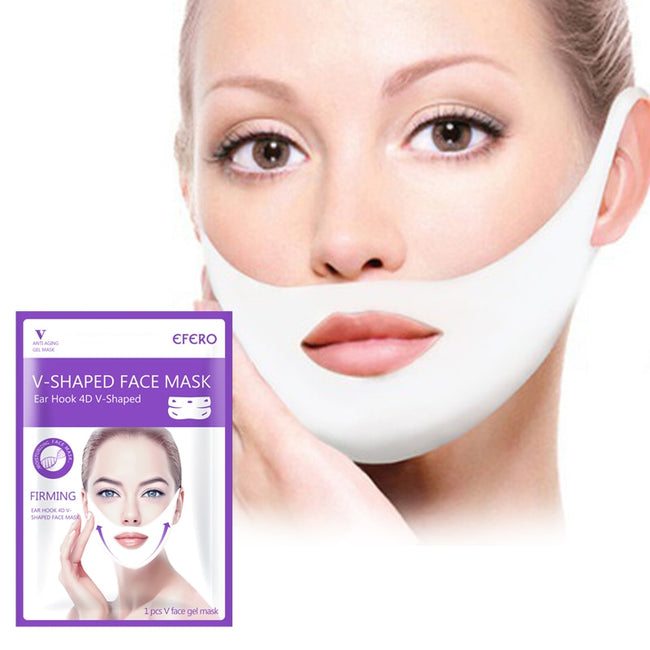 4PCS Firming Lift V Shaped Collagen Mask