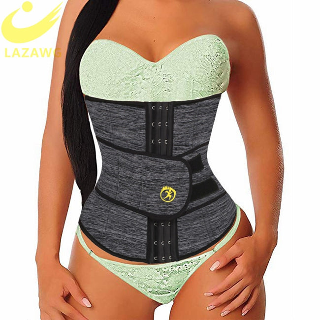 LAZAWG Waist Trainer & Fat Burning Girdle