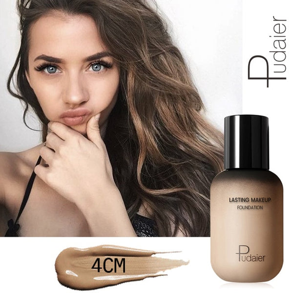Matte Makeup Foundation Cream Concealing Make up Long Lasting and Full Coverage
