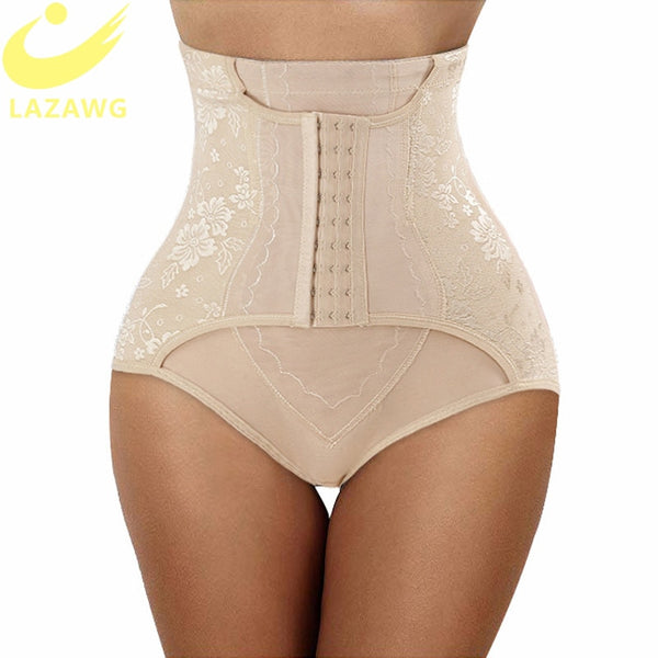 LAZAWG High Waist Control Panties, Butt Lifter, Belly Slimming Waist Trainer