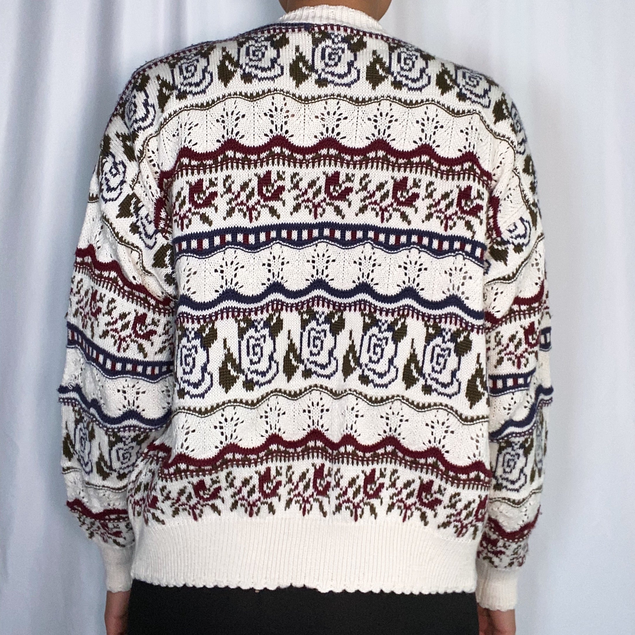 Vintage Part Two Wool Cardigan (size Large)
