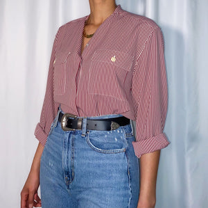 Vintage Chaus Striped Shirt (size 10)