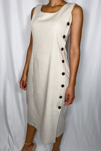 Vintage Hunt Club Linen Dress (size 8)