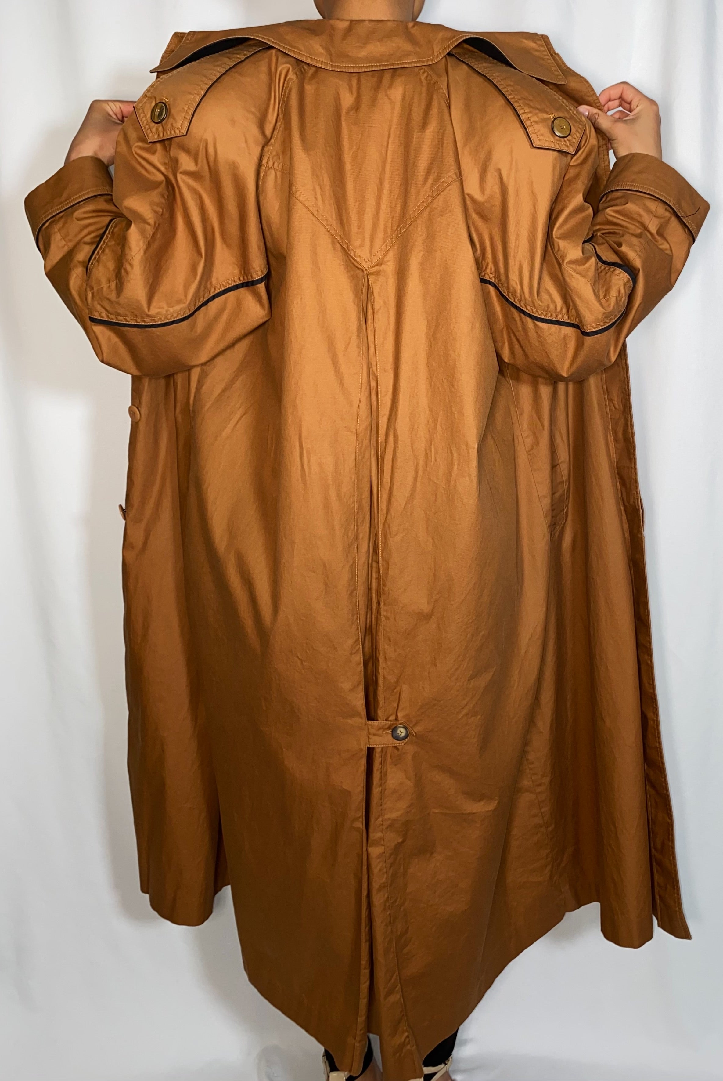 Vintage Fleet Street Trench Coat (size 10)