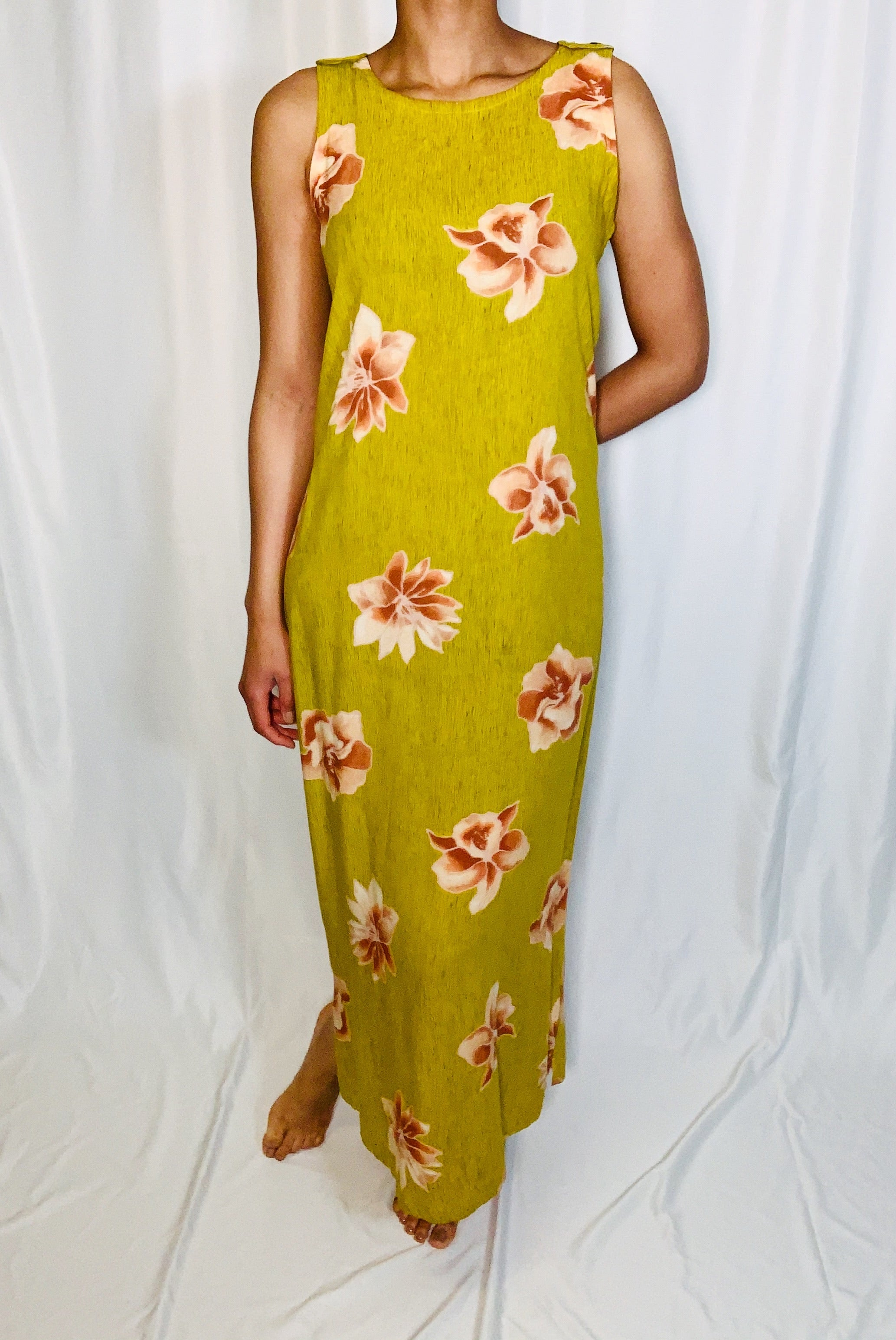 Vintage Dressing Clio Maxi Dress (size medium)