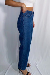 Vintage L.L. Bean High Waist Denim (size 8, see measurements)