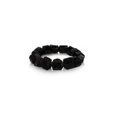 Black tourmaline gemstone women bracelet