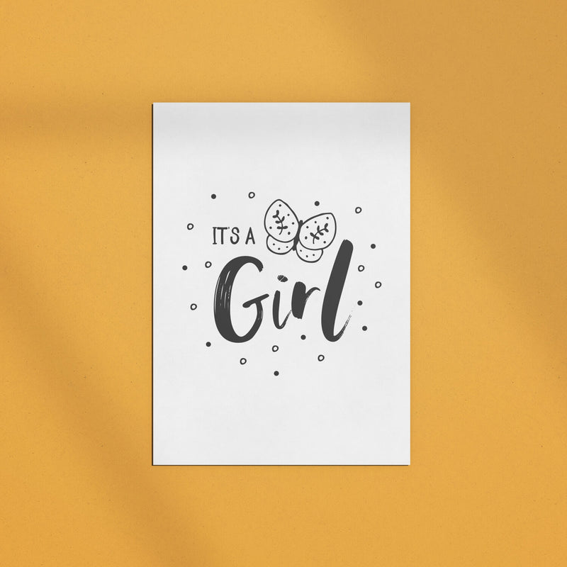 Grußkarte | It's a Girl