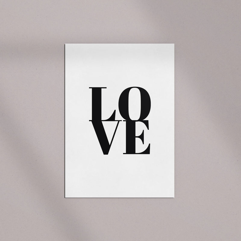 "Postkarten Set | ""Love is in the Air"""