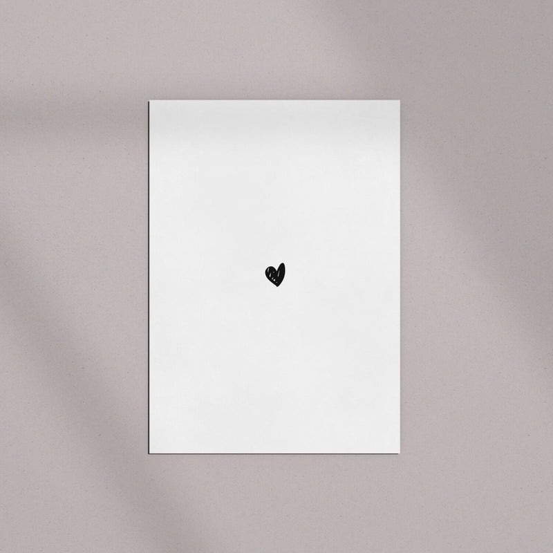 Postkarte | Tiny Heart