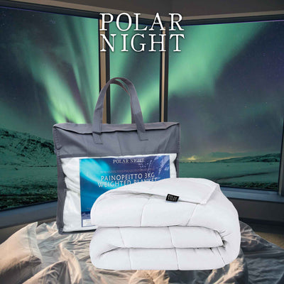 Polar Night children's weighted blanket, cotton 100x150cm (3-5kg)