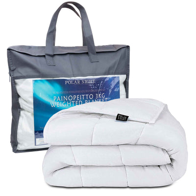Polar Night weighted blanket, cotton 150x200cm (5-13kg)
