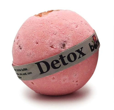 Pink Himalayan Rock Salt Grapefruit Detox Bath Bomb Soak Body Soak By Bomd Body Australia