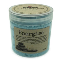 Energy Bubbling Salt Crystal Bath Muscle Soak Bubble Bath
