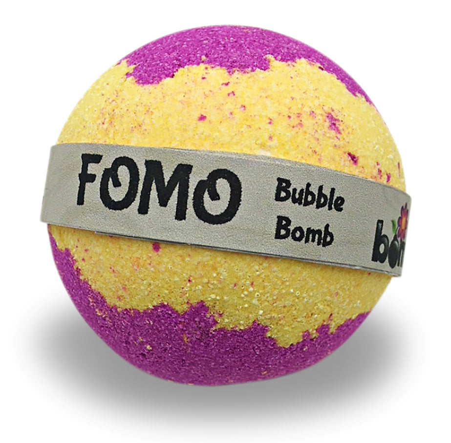 FOMO Bubble Bath Bomb Party In Your Tub by Bomd Body Bath Creators