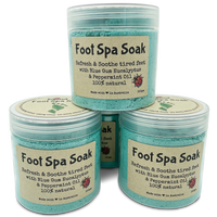 NEW Foot Spa Soak with Bluegum Eucalyptus and Peppermint Essential Oils