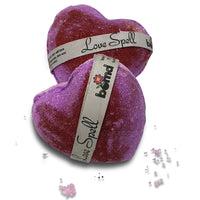 Perfect gift to a loved one Love Spell Bubble Bath Bomb with Luscious Bubbles in a Moisturising Bath