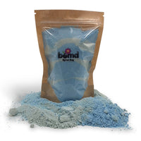 Mermaid Kisses Tropical Bubble Bath Dust in Cool Waters Blue by Bomd Body