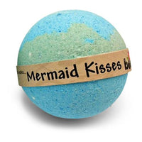 Mermaid Kisses Coconut Lime Moisturising Colourful Bubble Bath Bomb By Bomd Body Australia