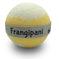 Wild Frangipani Bubble Bath Bomb Smells amazing by Bomd Body Australia Plumeria