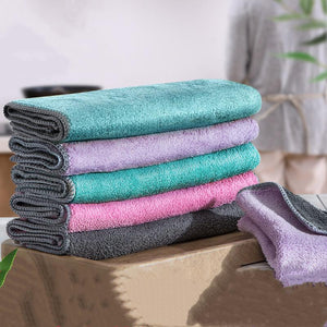 HomeHacks+ Ultra Absorbent Dishcloth (Pack of 10)