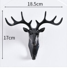 Deer Head Wall Hook