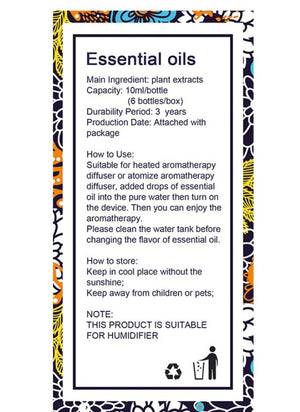 Kbaybo Premium Essential Oil Set