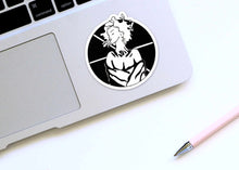 Load image into Gallery viewer, Asterisk - Friendship Inspired Ink Drawing - Die Cut Vinyl Sticker
