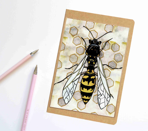 Avispa, Insect Inspired Notebook / Sketchbook / Journal