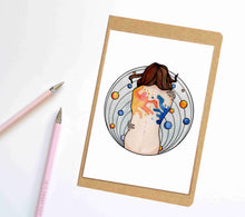 Load image into Gallery viewer, Embraced, Mental Health Inspired Notebook / Sketchbook / Journal