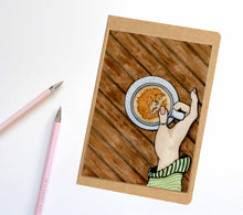 Load image into Gallery viewer, Foxy Coffee, Fox Inspired Notebook / Sketchbook / Journal