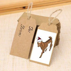 Gift Tags, Set of 8 - Holiday Edition