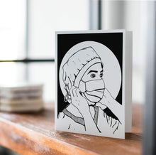 Load image into Gallery viewer, Hope, Inktober Day 10- Handmade Notecard