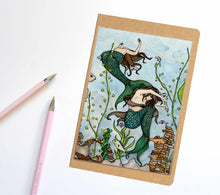 Load image into Gallery viewer, Mermaid Cove, Fantasy Inspired Notebook / Sketchbook / Journal - R