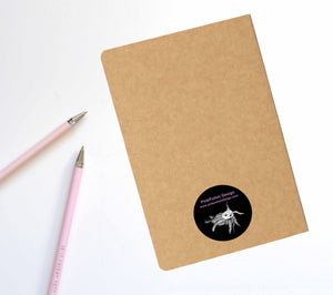 Foxy Coffee, Fox Inspired Notebook / Sketchbook / Journal