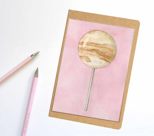 Jupiter Planet Pop Notebook / Sketchbook / Journal