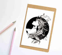 Load image into Gallery viewer, Sea Witch, Fantasy Inspired Notebook / Sketchbook / Journal