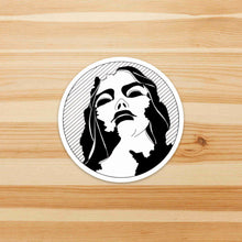 Load image into Gallery viewer, Static - Fantasy Inspired Ink Drawing - Die Cut Vinyl Sticker
