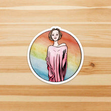 Load image into Gallery viewer, Towering - Tall Inspired Watercolor - Die Cut Vinyl Sticker