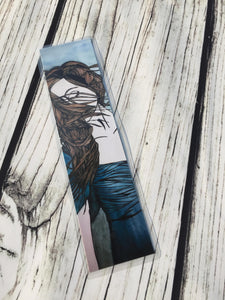Twirl, 2-Sided Bookmark - Freedom Inspired Watercolor Painting Art Print