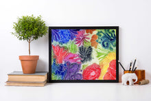 Load image into Gallery viewer, Floral Invention - Abstract Floral Watercolor Painting - Art Print