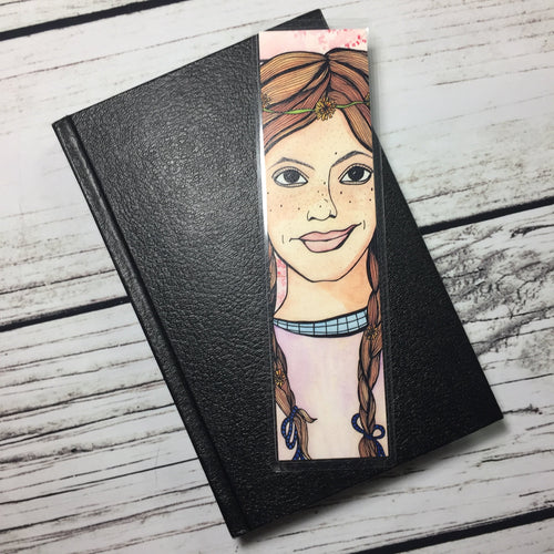 Anne Shirley, 2-Sided Bookmark  - Anne of Green Gables Inspired Watercolor Painting Art Print