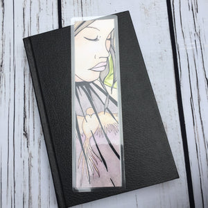 Caged, 2-Sided Bookmark - Mental Health Inspired Watercolor Painting Art Print